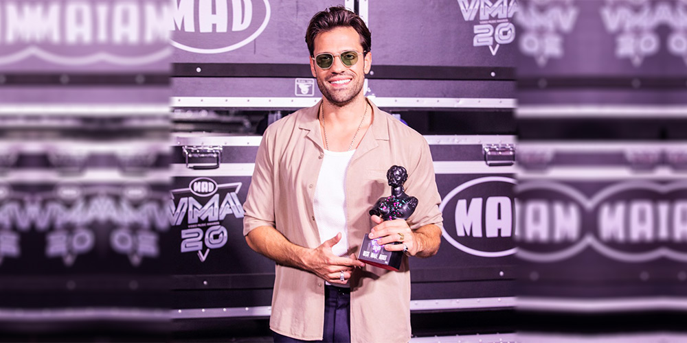 Βραβείο BEST MALE ADULT 2020 στα MAD VMA 2020